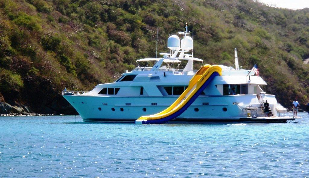 CAPRICORN Yacht Charter Details Hatteras CHARTERWORLD