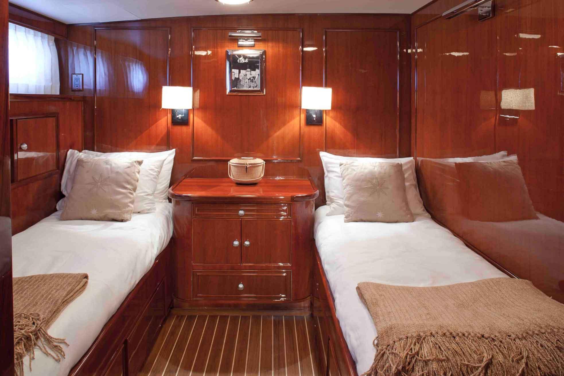 Yacht THE HIGHLANDER Feadship CHARTERWORLD Luxury