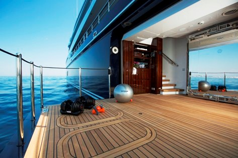 EXCELLENCE V Gym Luxury Yacht Browser By