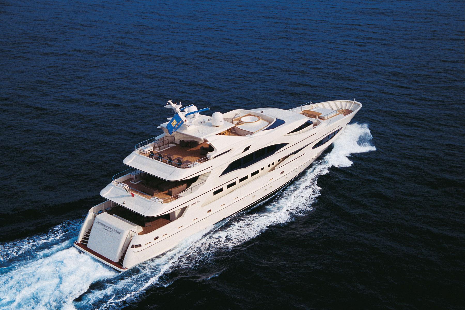 PRINCESS IOLANTHE Yacht Charter Details MondoMarine