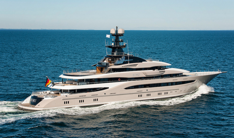 Motor Yacht KISMET Project GLOBAL A Lurssen Superyacht