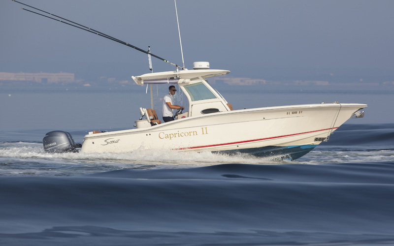 ICE 5 Scout Tender Luxury Yacht Browser By