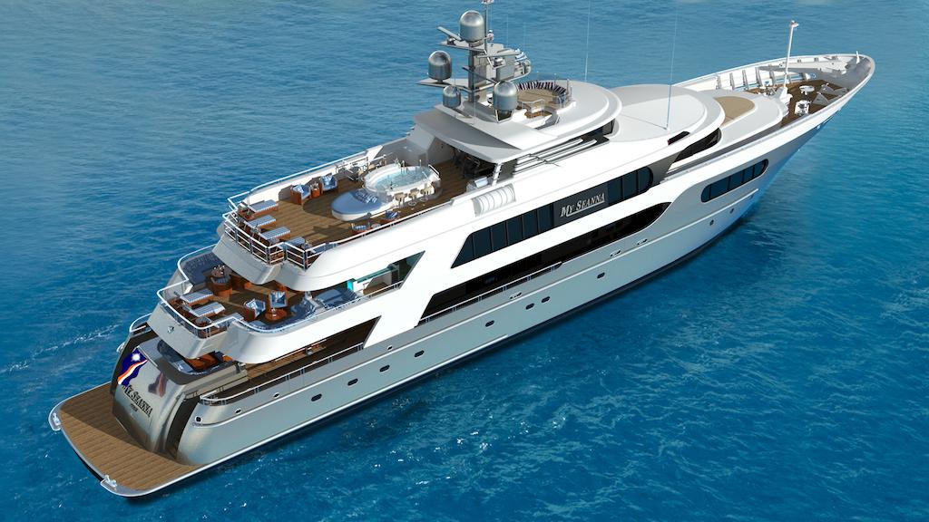 MY SEANNA Ex NEWVIDA Gallant Lady Delta Luxury Motor Yacht