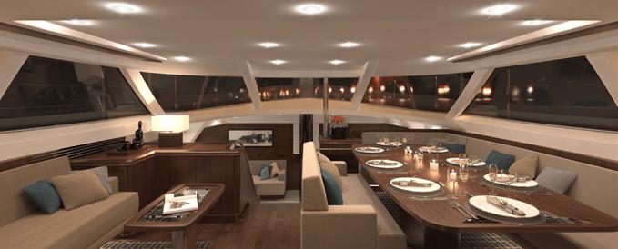 Yacht Oyster 100 Deck Saloon Oyster Marine CHARTERWORLD