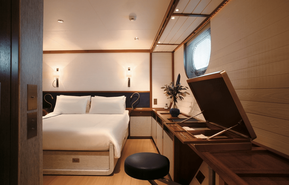 Sailing Yacht Rosehearty Interior Christian Liaigre