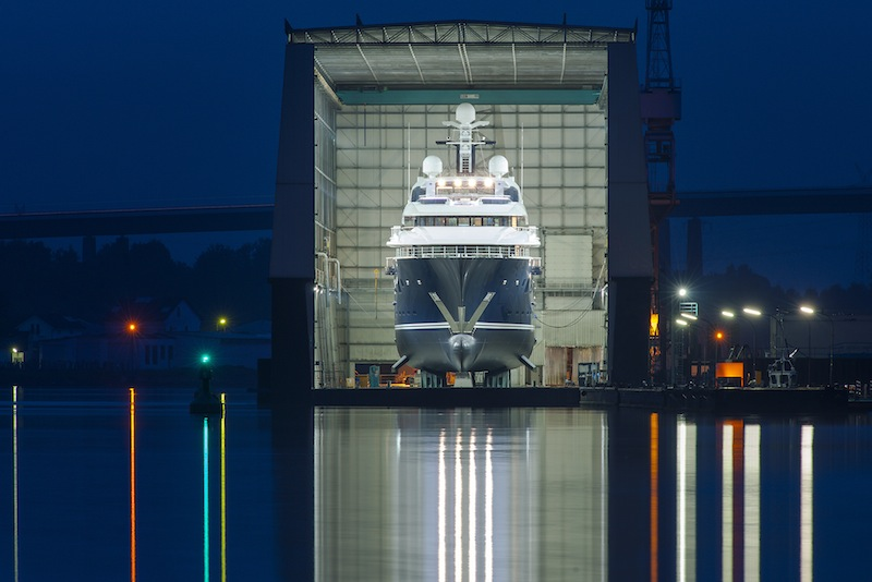 Motor Yacht SOLANDGE Project NIKI A Lurssen Superyacht