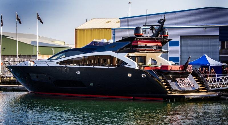 Yacht BLACK LEGEND A Sunseeker 101 Sport Yacht