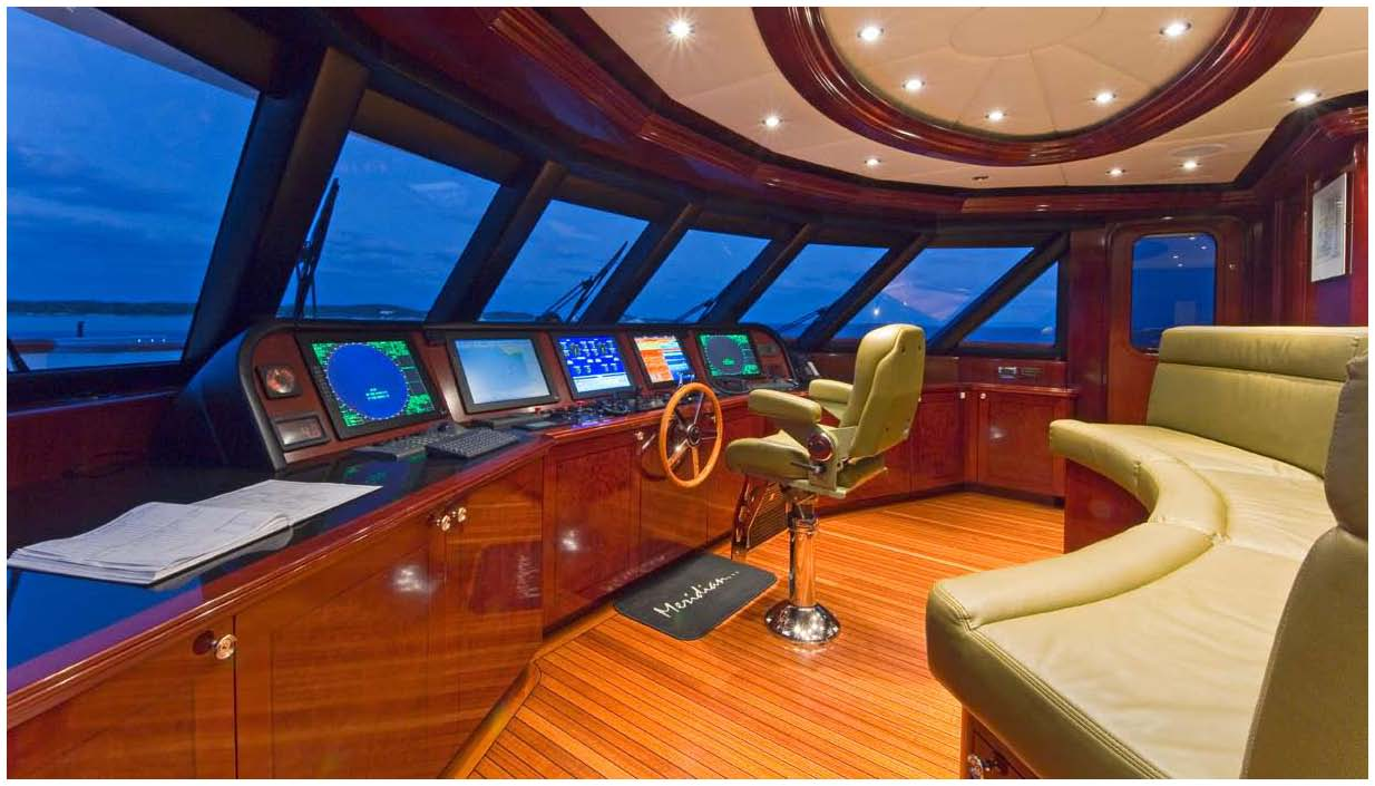 Motor Yacht LA DEA II Ex MAIDELLE Trinity Yachts