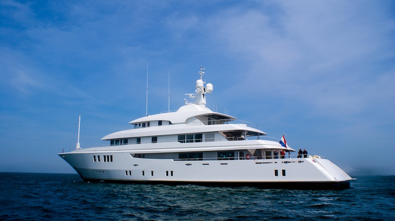 Motor Yacht PARTY GIRL Ex Meridian Maidelle An Icon