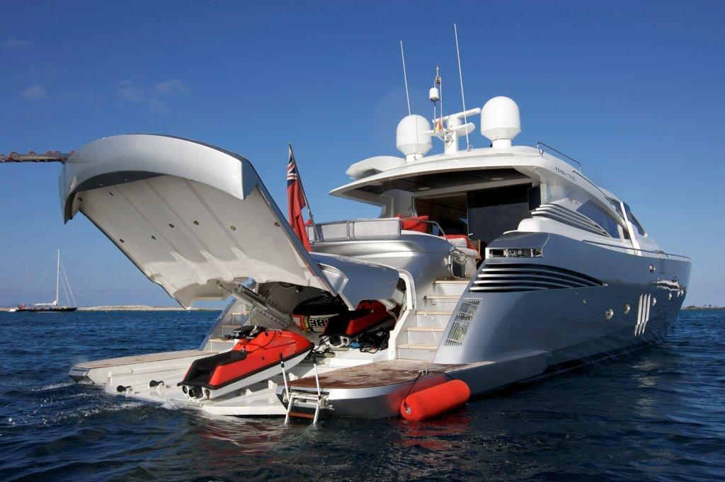 TIGER LILY OF LONDON Yacht Charter Details Pershing 90