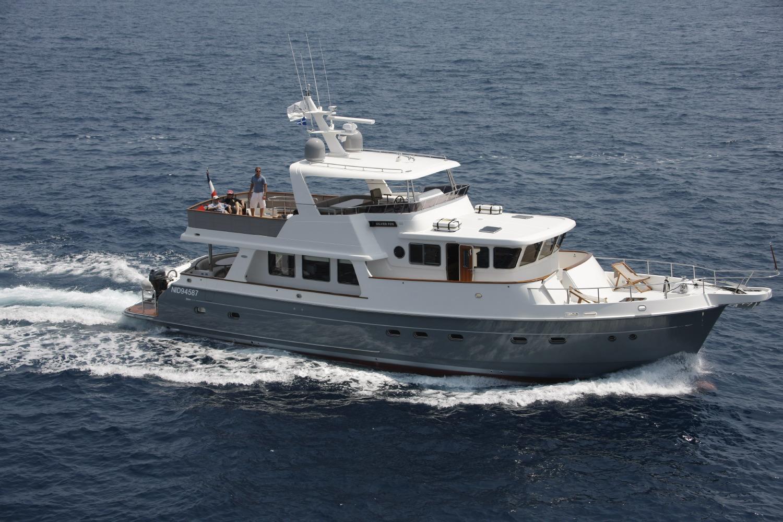 SILVER FOX Yacht Charter Details Selene Ocean Trawler