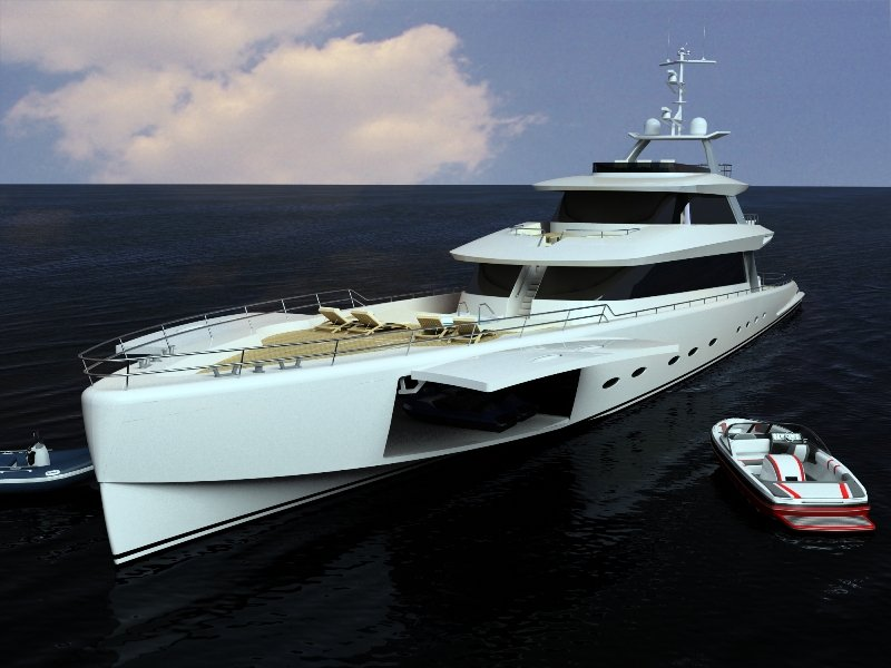Brilliant Boats 50m Sportfisherman Superyacht Yacht