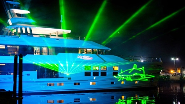 Yacht Big Fish Lights Up Auckland With Official Launch Celebrations Yacht Charter Amp Superyacht