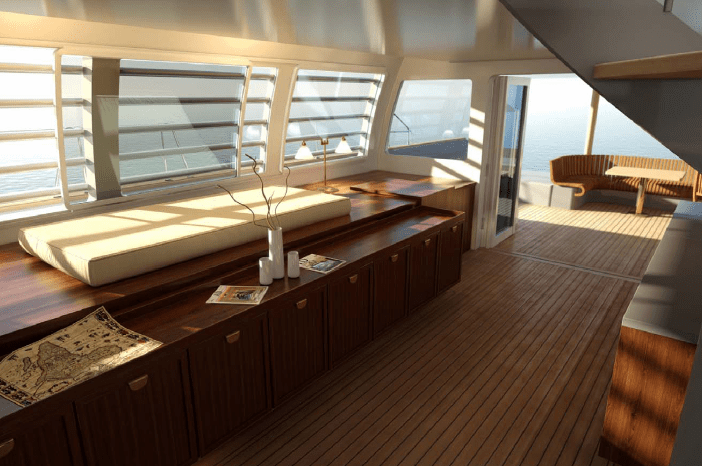 View Of The Interior Catamaran Noah 76 Image Courtesy