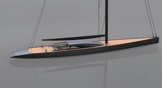 Dubois Designed 65m Sailing Yacht P1409