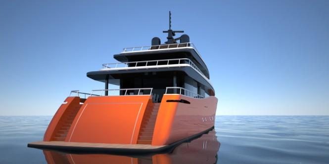 Motor yacht Leviathan