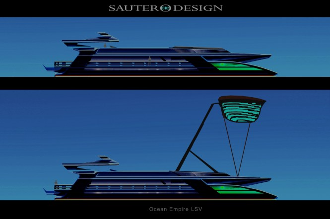 Ocean Empire LSV  by Sauter Carbon Offset Design