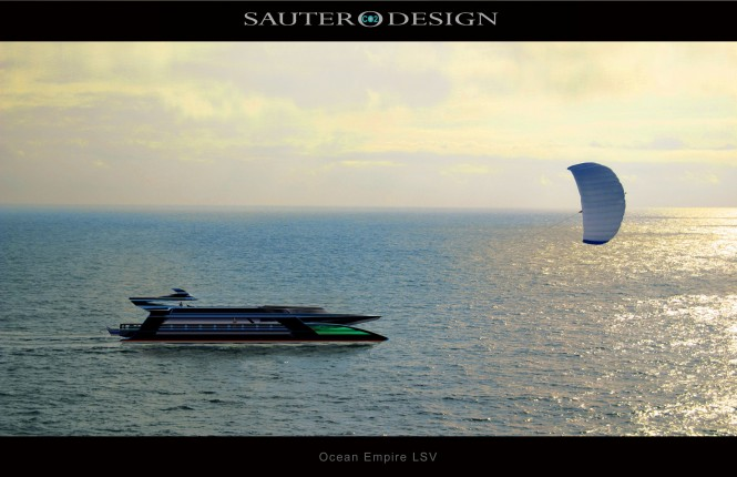 Ocean Empire LSV by Sauter Carbon Offset Design - The World's First Self Sufficient Zero Carbon Superyacht