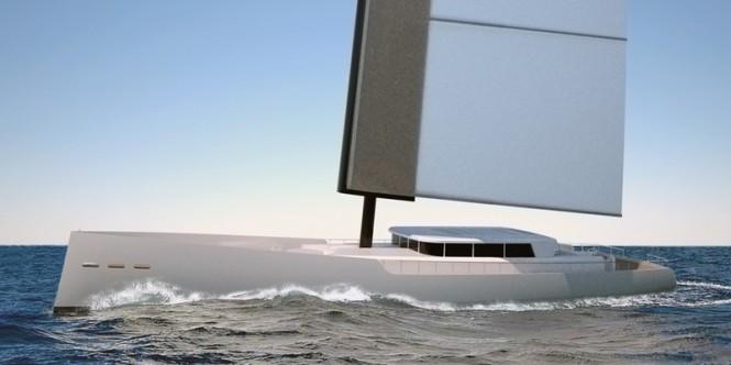 40m Yacht DY 40 by 2Pixel Studio