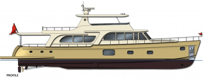 World Premiere Of The New 100 Cruiser Motor Yacht By Vicem