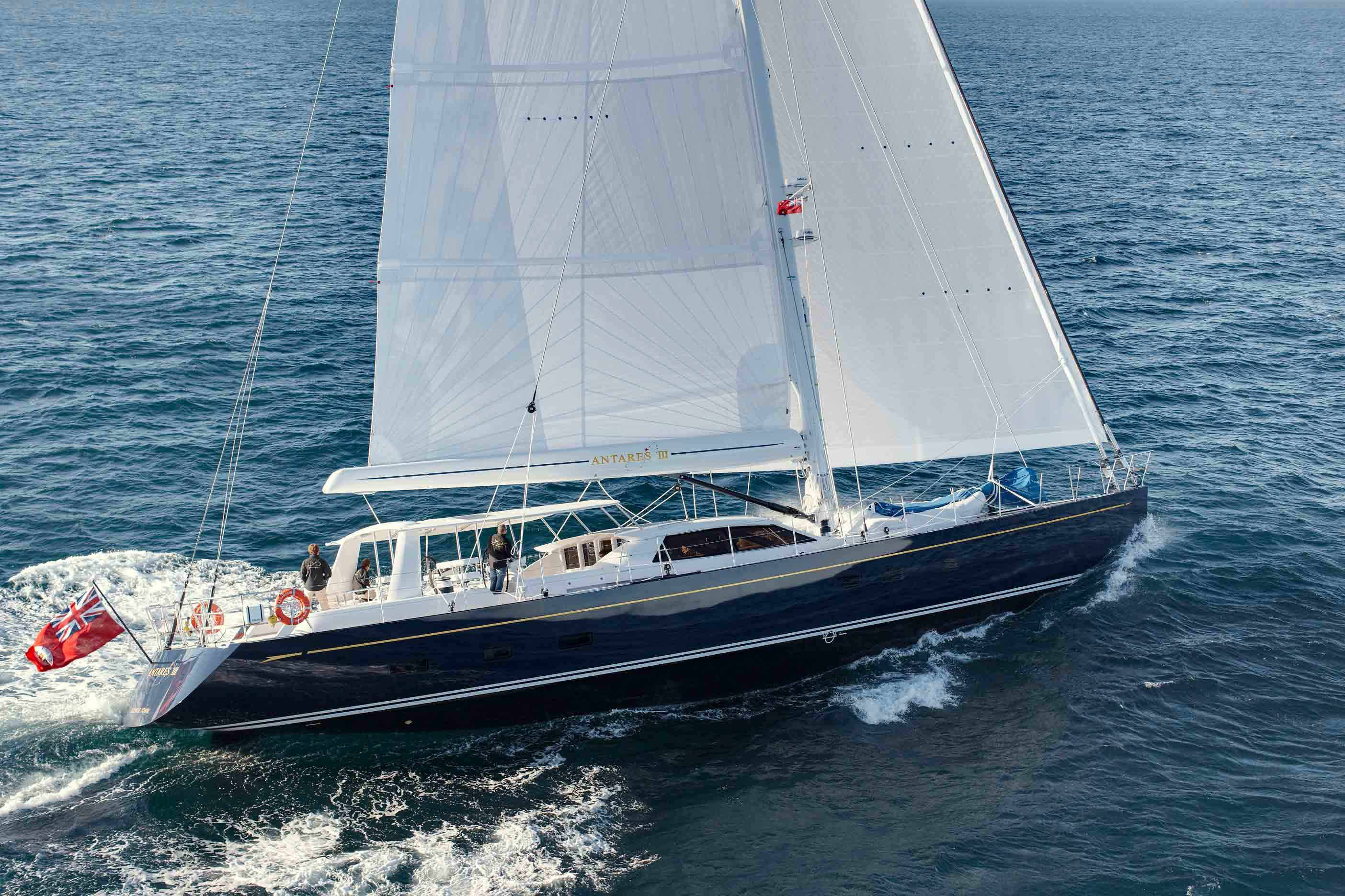 Sailing Yacht Antares III Yacht Charter Amp Superyacht News