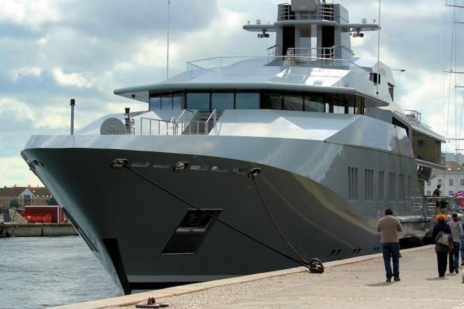 Five Magnificent Superyachts At The Copenhagen Harbour