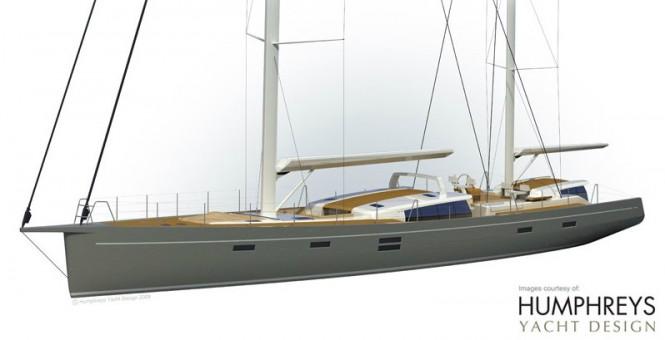 New Rhoades Young And Rob Humphreys Designed 100 Sailing