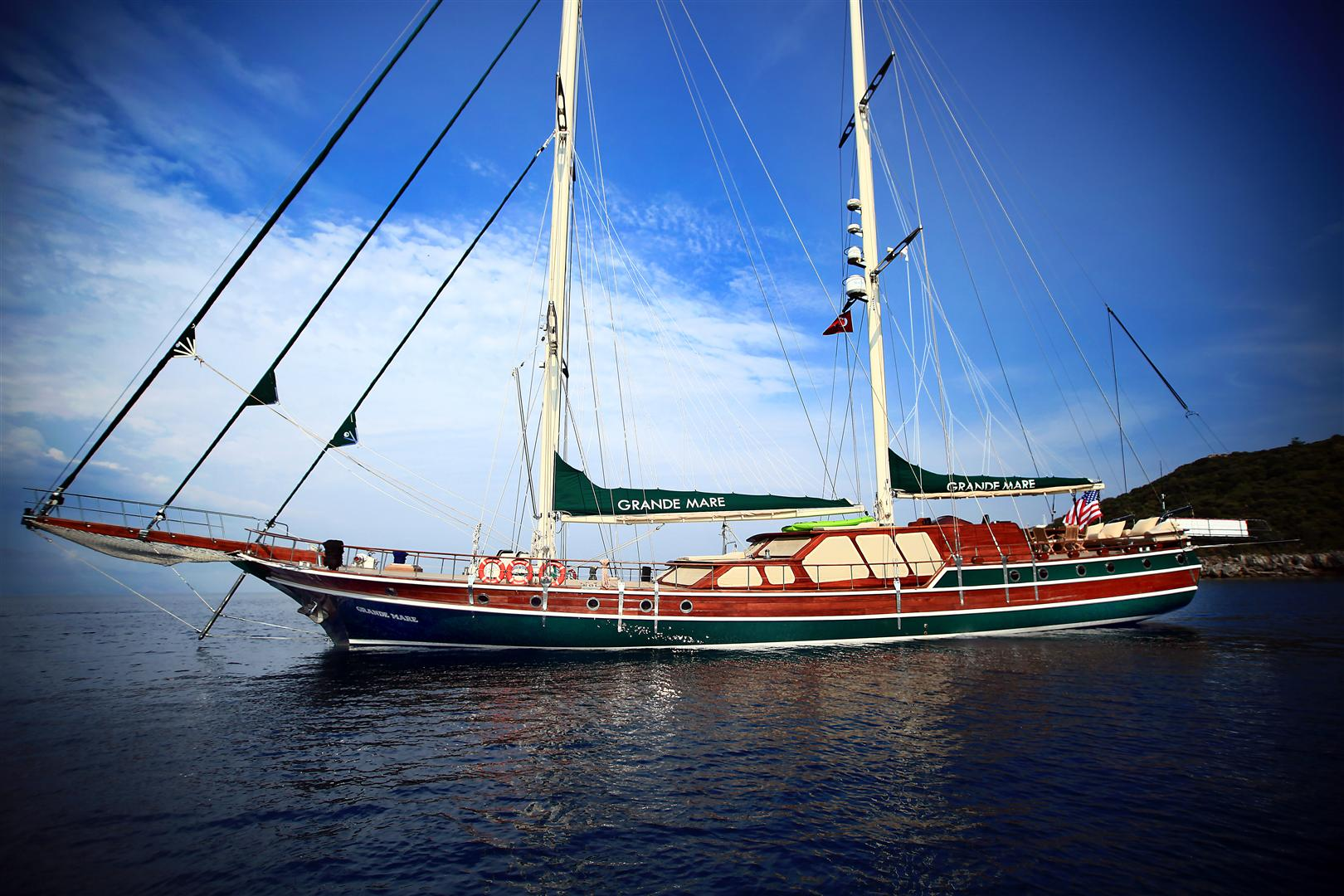 Luxury Turkish Gulet Grande Mare Yacht Charter