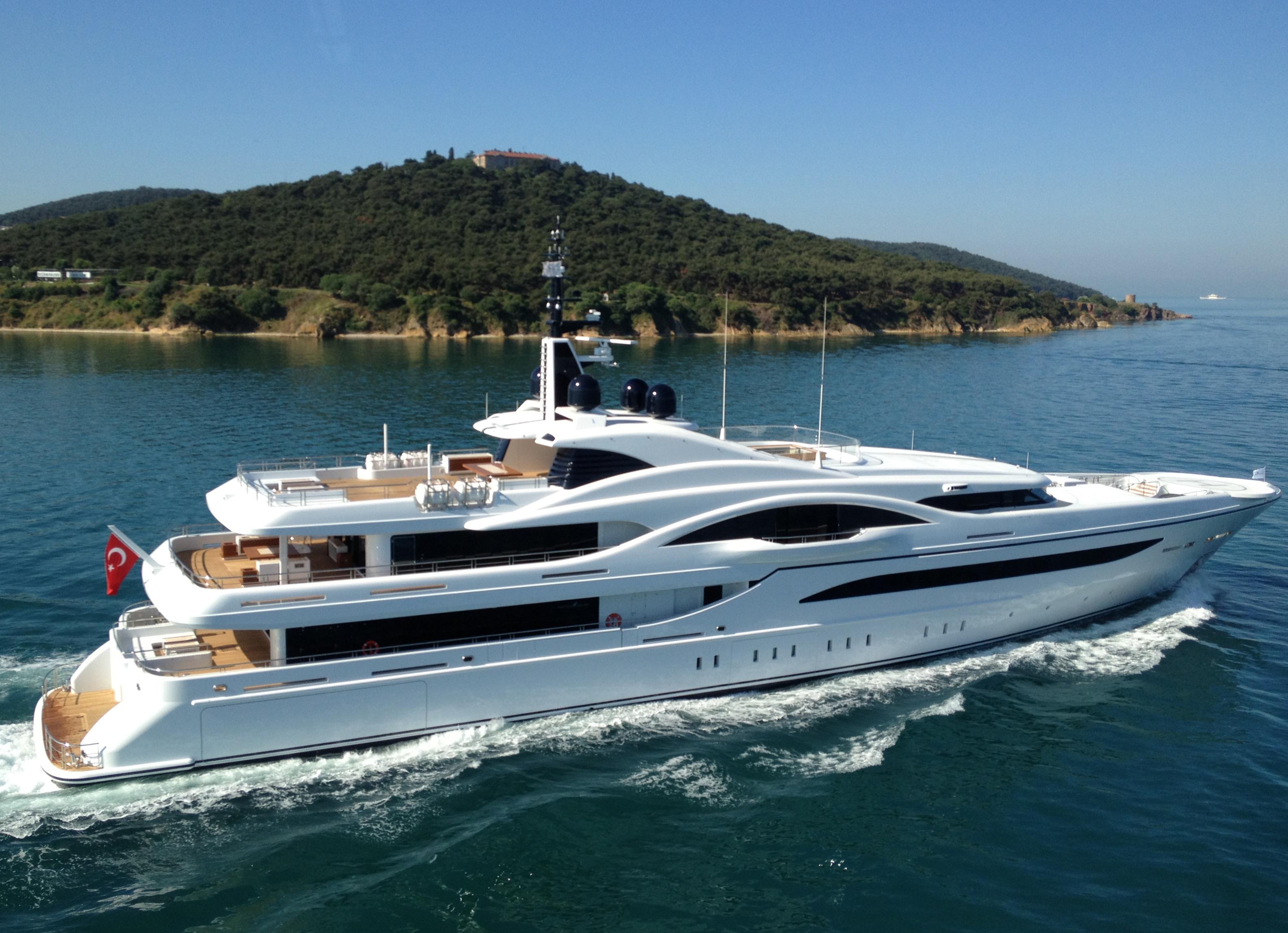 Proteksan Turquoise Superyacht Vicky Hull NB54 Yacht