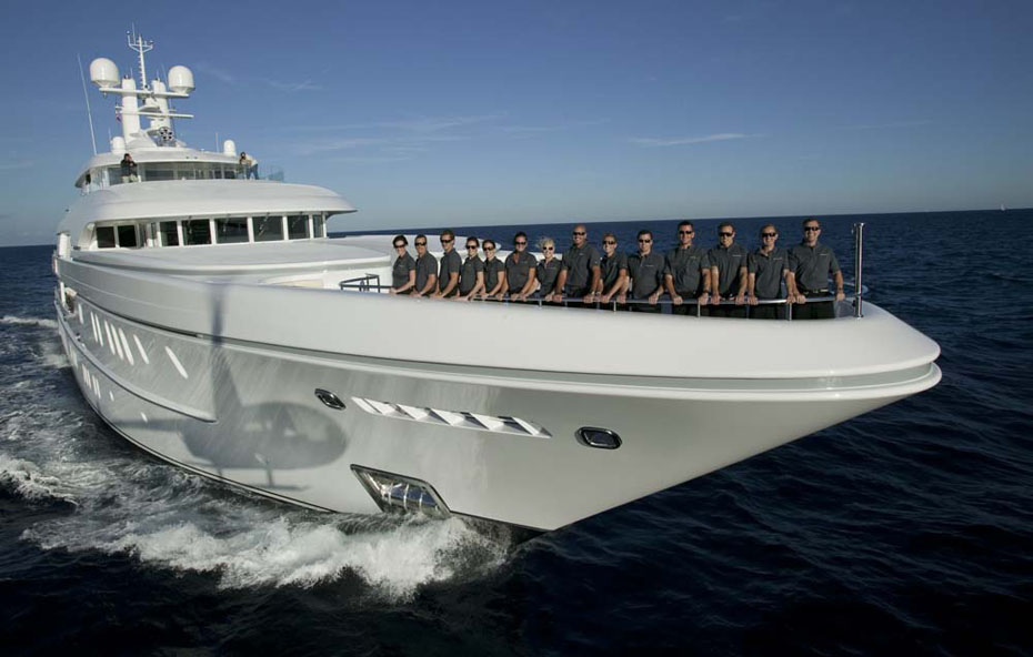 The Friendly And Professional Crew Of SOLEMATES Yacht