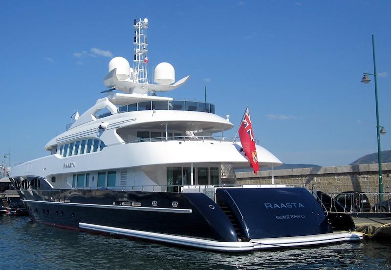 Luxury Yacht Raasta Yacht Charter Amp Superyacht News