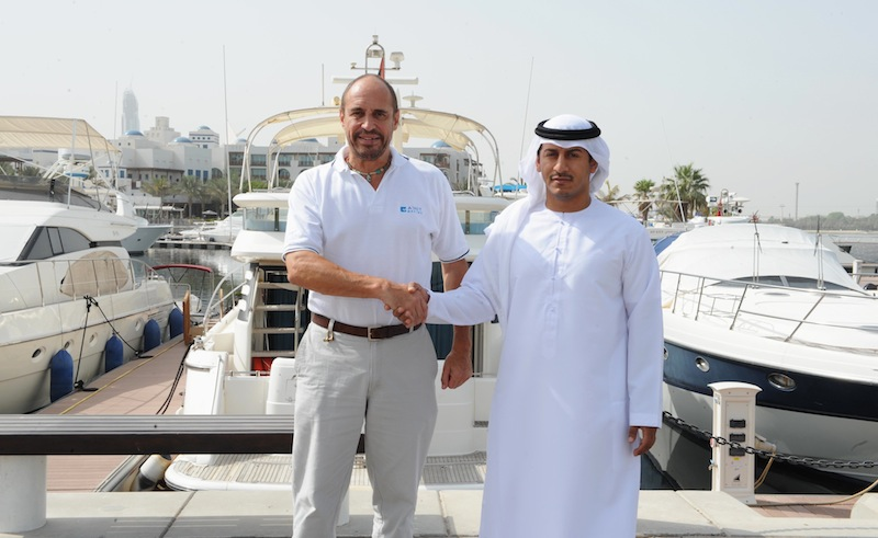 A Co Operation Agreement Between Dubai Creek Marina And