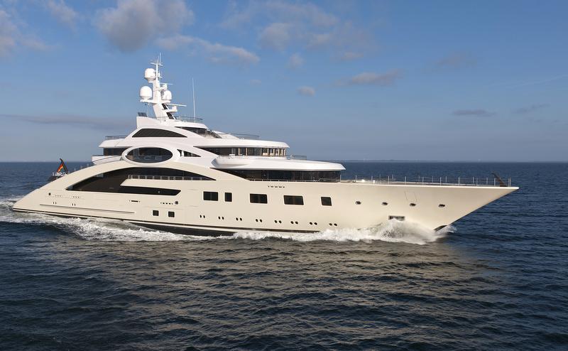 85 M Lurssen Motor Yacht ACE Project Rocky Photo By