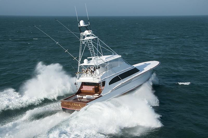Jarrett Bay 77 Yacht Blank Check Yacht Charter