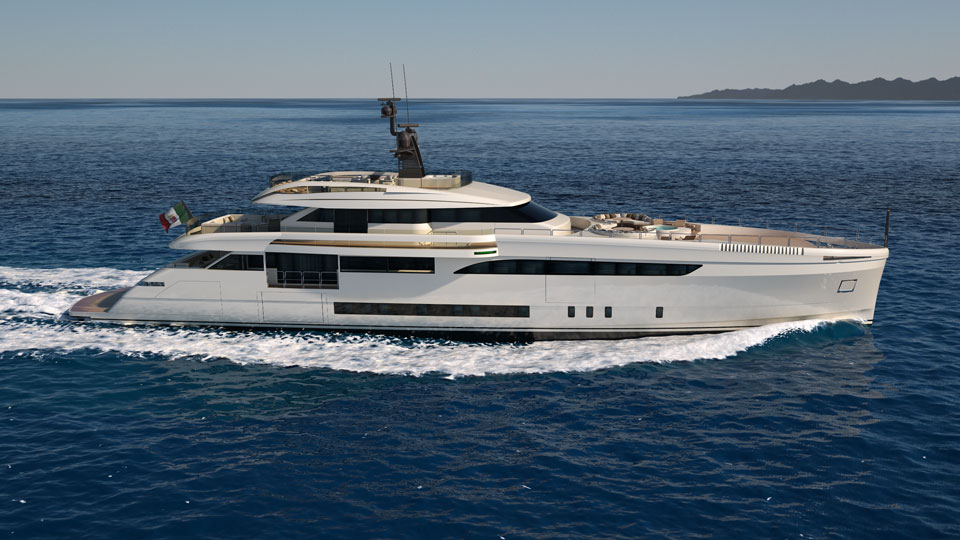 Luxury Yacht Wider 165 Side View Yacht Charter Amp Superyacht News
