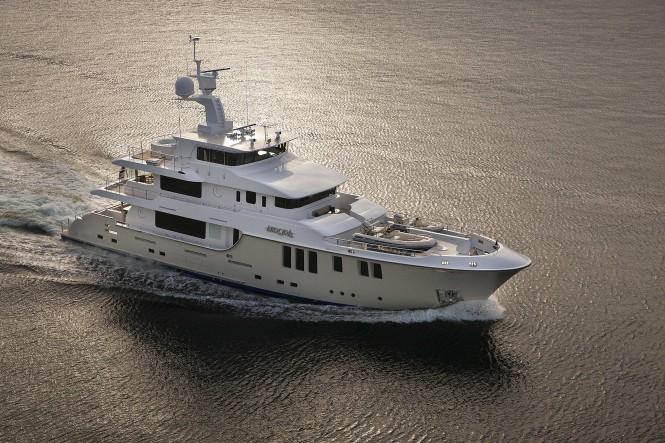 Nordhavn 120 Aurora Luxury Yacht Charter Amp Superyacht News