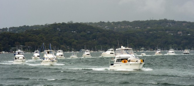 34th Anniversary Celebrated By Riviera Yachts At Pittwater