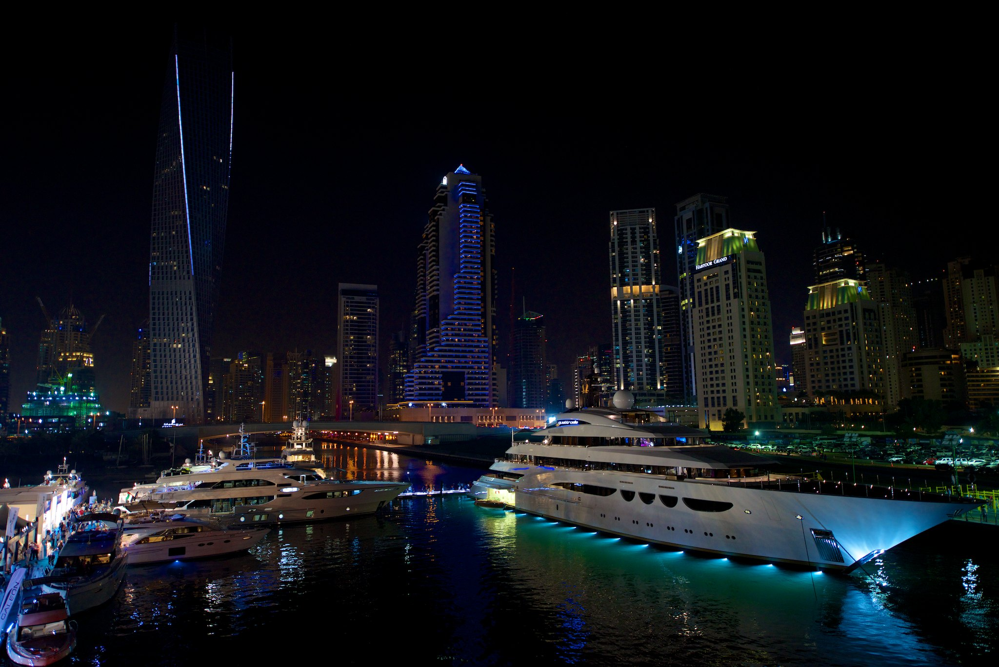 DIBS 2014 By Night Yacht Charter Amp Superyacht News