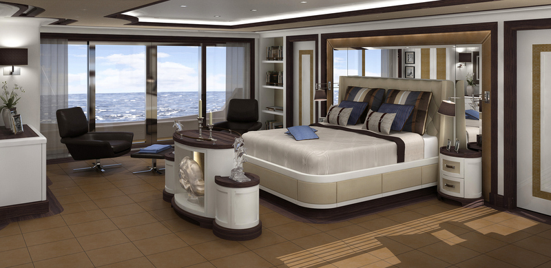 Superyacht FOREVER ONE Owners Cabin Yacht Charter