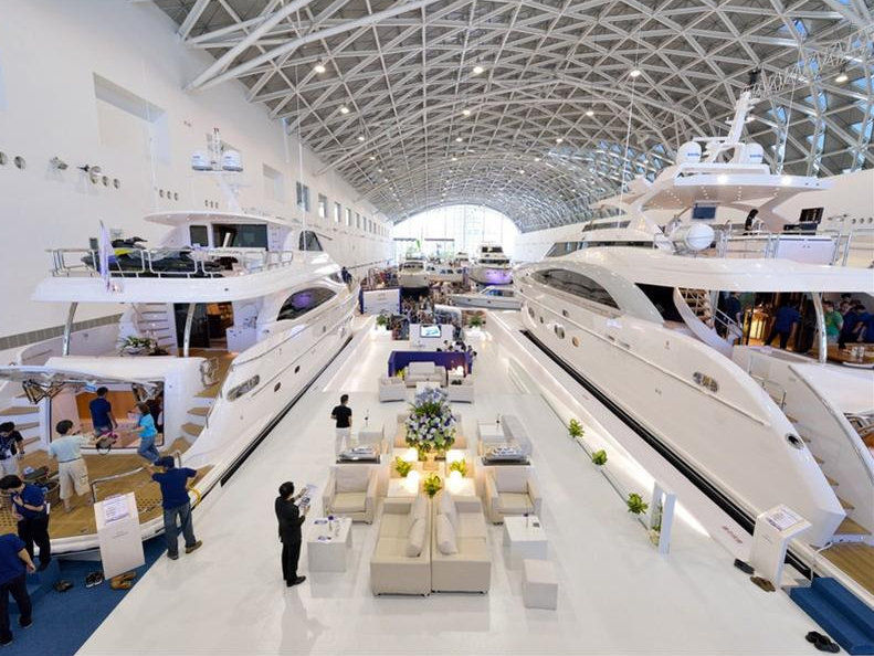 Luxury Yachts By Horizon On Display At The 2014 Taiwan Boat Show Yacht Charter Amp Superyacht News