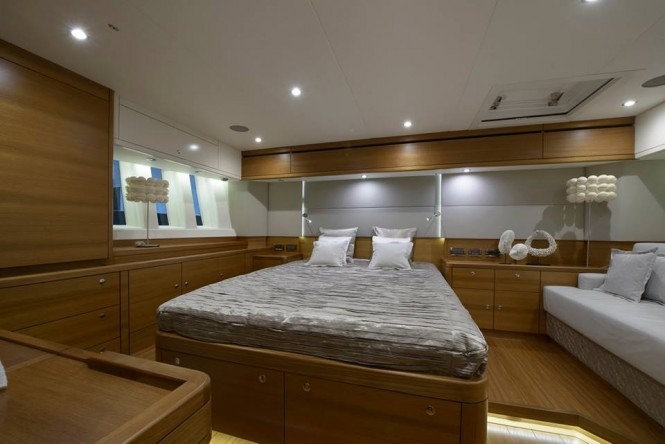 Oyster 825 Sailing Yacht REINA On Display At Monaco Yacht
