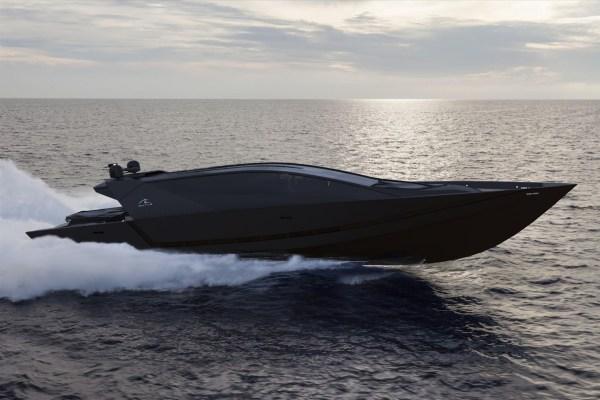 Isurus Yacht Concept underway — Yacht Charter & Superyacht ...