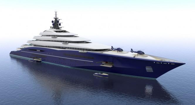 Christopher Seymour Unveils Breath Taking 200M Gigayacht