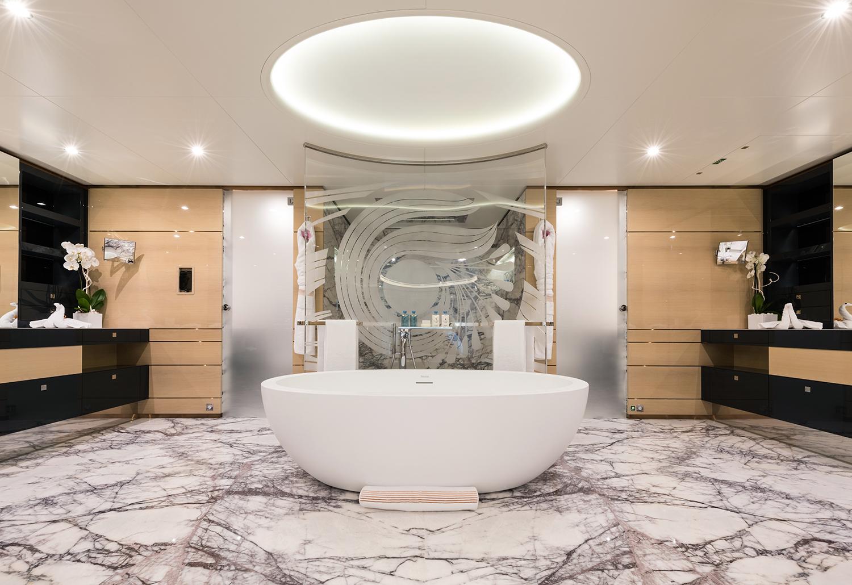 Mega Yacht IRIMARI Bathroom Yacht Charter Amp Superyacht