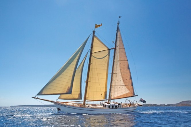 Beautifully Refitted Century Old Classic Sailing Yacht