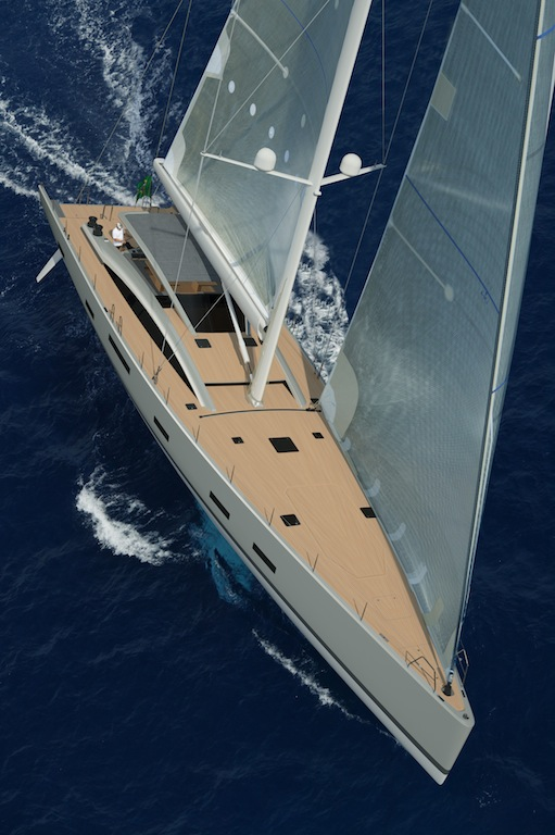 MCP YACHTS Unveil New 100 SILVER BULLET Sailing Yacht