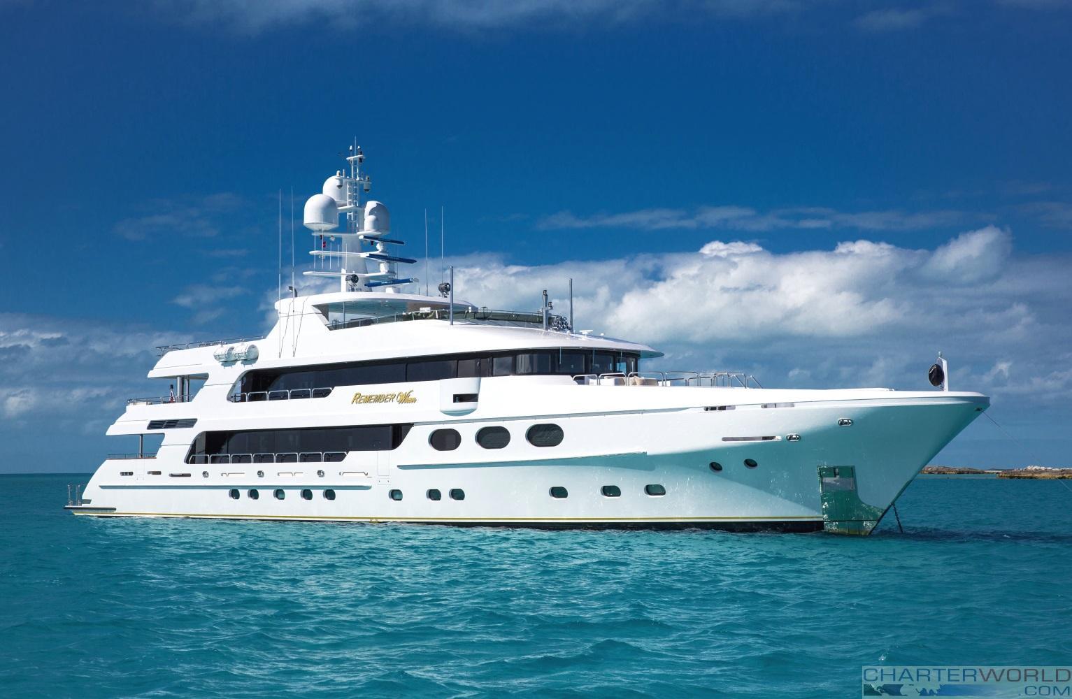 Superyacht REMEMBER WHEN Yacht Charter Amp Superyacht News
