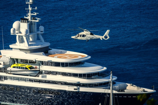 Top 15 Superyachts With Helicopters Yacht Charter