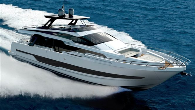 Cayman Yachts Launches 26 Metre Flagship F920 Motor Yacht Yacht Charter Amp Superyacht News