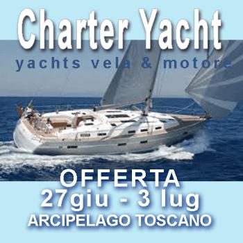charter barca a vela